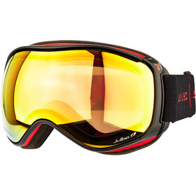 Julbo Starwind Goggles, black-red/snow tiger/multilayer fire